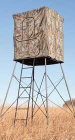Big Game Tree Stands CR9550 Box Blind The Renegade