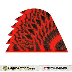 Bohning Archery 10833RT2 2 In Red Tiger Blazer Vane 1pk