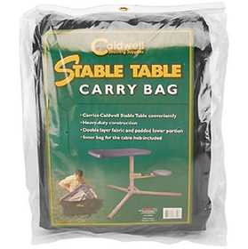 Caldwell 777810 Caldwell Stable Table Carry Bag Heavy Duty Fabric Black