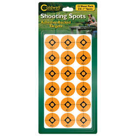 Caldwell 754883 Battenfeld 754883 Caldwell Shooting Spots Orange 1 in 12 Sheets