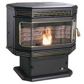 United States Stove Co SP2000PS Pedestal Pellet Stove
