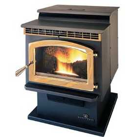 United States Stove Co SP23PDC Freestanding Pedestal Pellet Stove