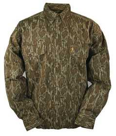 Browning 3011351902 Shirt Wasatch Long Sleeve Mossy Oak M