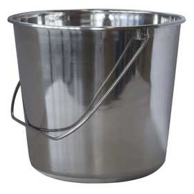 Buffalo Tools ssb237 Bucket Stainless Steel 2.37 Gal