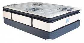 Campbell Mattress BDPT-1050 Mattress Black Diamond Pillow Top Gel PCoil Queen