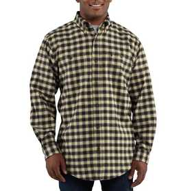 Carhartt 100124-001 Mens Trumbull Plaid Shirt