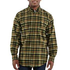 Carhartt 100124-301 Mens Trumbull Plaid Shirt Xlr
