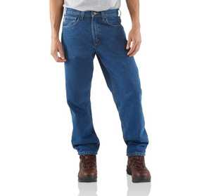Carhartt B17-DST Mens Relaxed Fit Denim Jeans 42x36