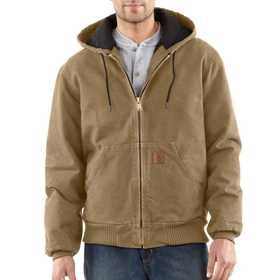 Carhartt J130266 Mens Sandstone Flannel Lined Active Jacket