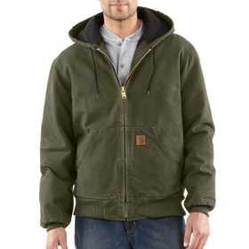 Carhartt J130ARG Mens Sandstone Flannel Lined Active Jacket Mr