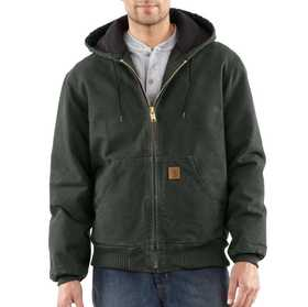 Carhartt J130-MOS Mens Sandstone Duck Active Jacket Mr