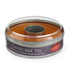 Candle Warmers Etc. CT1740 Pumpkin Spice Candle Aire Tin