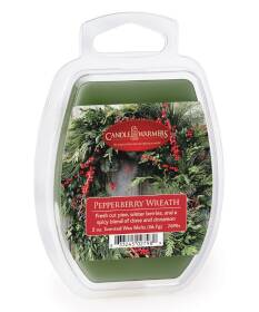 Candle Warmers Etc. 7690S Pepperberry Wreath 2 oz Wax Melt