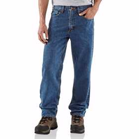 Carhartt B160-STW 34x34 Men's Relaxed Fit Jean