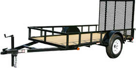 Carry-On Trailers 5X10GW 5 ft X 10 ft Wood Floor Trailer