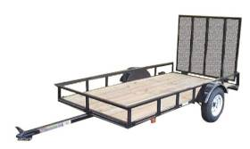 Carry-On Trailers 5X10GW2K 5 Ft X 10 Ft Utility Trailer With Gate