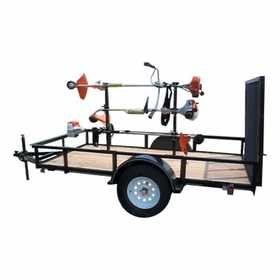 Carry-On Trailers 801 Utility Trailer Weedeater Rack