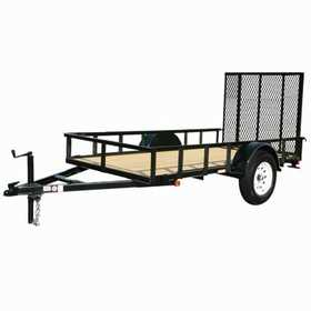 Carry-On Trailers 5X8GW3K 5 ft X 8 ft Wood Floor Trailer