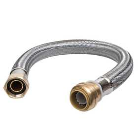 RELIANCE WORLDWIDE CORP. U3086FLEX24LF Water Softener Hose 24 in