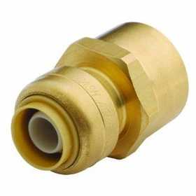 Cash Acme U072LFA Sharkbite Connector Female 1/2x 1/2 Fnpt