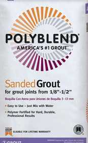 Custom Building Products PBG1727-4 Grout Polyb Sand Urban Putty7#