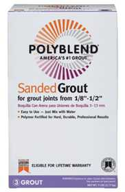 Custom Building Products PBG5407-4 Sanded Grout Truffle
