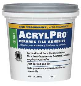 Custom Building Products ARL4000QT Adhesive Mastic Tile Ceramic Qt