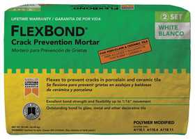 Custom Building Products FBW50 Thin-Set Mortar Flexbond White 50#
