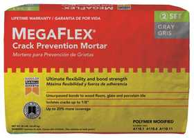 Custom Building Products MFMG50 Mega Flex Thin-Set Gray 50lb
