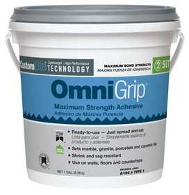 Custom Building Products OGA1-2 Tile Adhesive Ult Omnigrip Gal