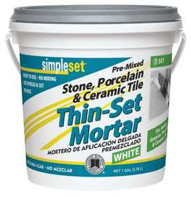 Custom Building Products STTSW1-2 Thin-Set Mortar Tile Ceramic Gal