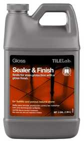 Custom Building Products TLGLSSHG Sealer & Finish Tile Lab Gloss Clear ½ Gal