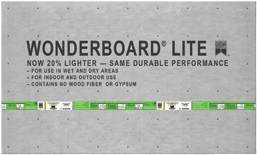 Custom Building Products FLB60L Wonderboard Lite Underlayment 36x60 1/4 in