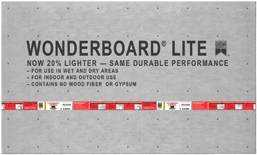 Custom Building Products GCB60L Wonderboard Lite Underlayment 36x60 7/16 in