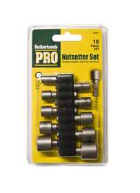 Sutherlands Pro 53081 Nutsetter Set 10pc