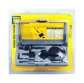 Sutherlands Pro 53090 14 Piece Carbon Hole Saw Set