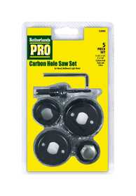 Sutherlands Pro 53099 Hole Saw Carbon Alloy Set 5pc