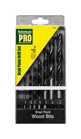 Sutherlands Pro 53350 Brad Point Drill Bit Set