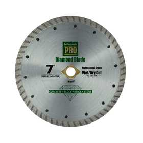 Sutherlands Pro 53572 7 in Turbo Rim Diamond Saw Blade