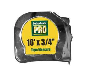 Sutherlands Pro 53941 Tape Power 1/2x12 ft Chrome