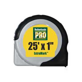 Sutherlands Pro 53944 Tape Power 1 in x25 ft Extramark