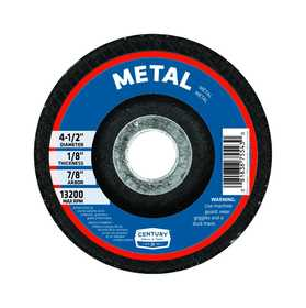 Sutherlands Pro 75544 Metal Wheel Cutting 41/2x1/4 in