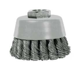 Sutherlands Pro 76047 Cup Brush Crimped 4x5/8-11