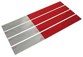 Reese Towpower 73886 Aluminum Conspicuity Reflective Strips