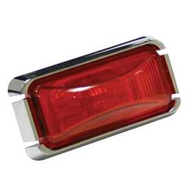 Reese Towpower 73838 Rectangular Clearance Sealed Light Kit, Red