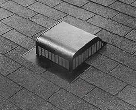 Air Vent Ventilation RVG55000 Roof Vent Slant Back Airhawk Galvanized Mill