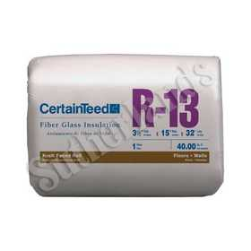 Certainteed 900320 R13 in ulation Kraft-Faced Roll 31/2x15
