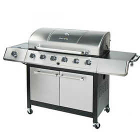 Char Broil 463230511 65,000 Btu Gas Grill With Side Burner