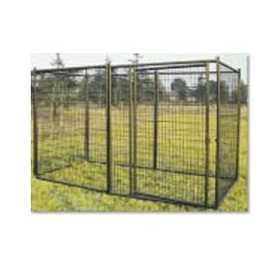 Advantek 23100 4 ft X 5-1/2 ft X 8 ft Deluxe Dog Kennel