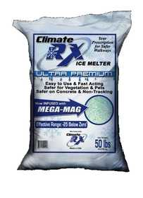CLIMATE RX ULTRA50# Climate Rx Ultra Premium Ice Melter 50 Lb Bag